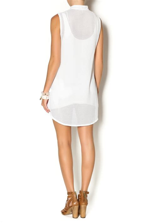 Wst 13934 Openwork Top White Size M 209 wst sleeveless mesh vest from houston by treasure trove shoptiques
