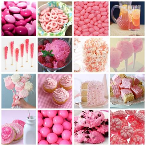 pink food pink food shoplemondrop baby shower catering ideas pi