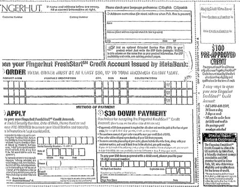 Credit Application Form For Edgars Graphic