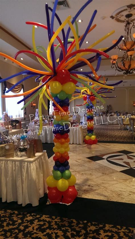 731 best images about Balloon Columns, Pillars, Decoration