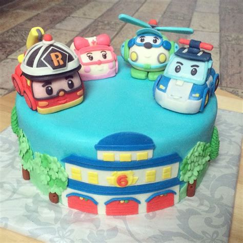 Cupcake Topper Ulang Tahun Ultah Pony 17 best images about robocar poli on cas birthday cakes and toys