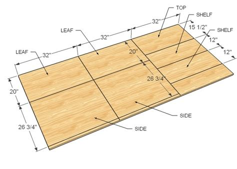 sewing table woodworking plans woodshop plans