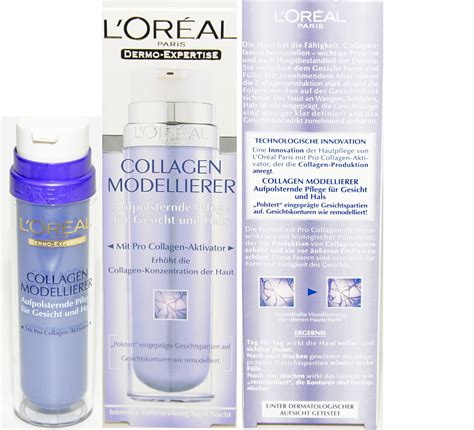 Collagen Loreal loreal dermo expertise collagen modeler verh 228 rtet das