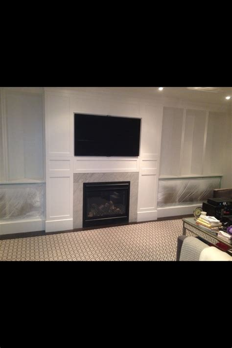 Tv Unit Fireplace by Fireplace And Tv Unit Painted White Lounge Room