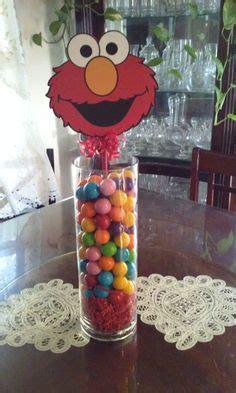 Elmo Centerpieces Decorations Sesame Birthday Centerpiece My Cricut Creations