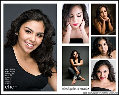 free makeup artist comp card template robert bell photography chani modeling headshot