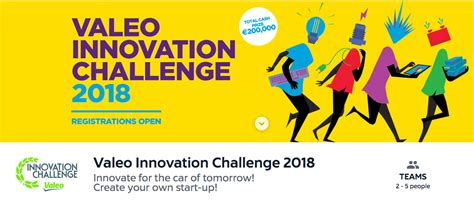 Mba Competitions 2018 by Valeo Innovation Challenge 2018 International Student