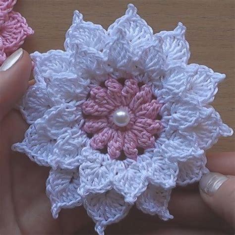 pattern crochet a flower 25 best ideas about crochet flower patterns on pinterest