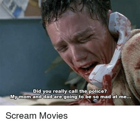 Scream Movie Meme - 25 best memes about police police memes
