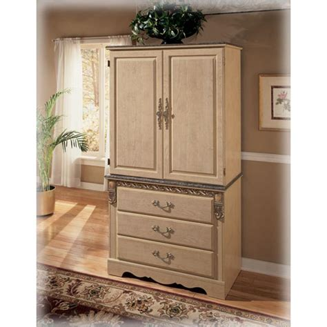 ashley furniture armoire b290 49b ashley furniture sanibel bedroom armoire base