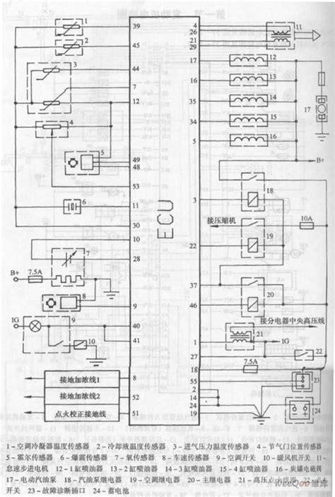 Soket Sensor Temperature Air Suzuki G15 chang an suv 6350c engine system circuit