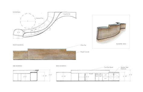 Free Curved Reception Desk Plans Blueprints Woodworking