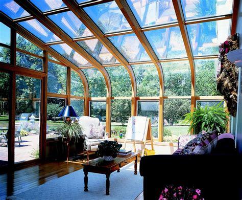 solarium sunroom curved glass roof sunroom or solarium with wood interior