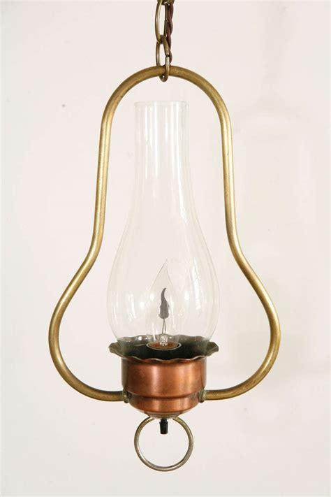 Hurricane Pendant Light Vintage Copper Hurricane Pendant For Sale At 1stdibs