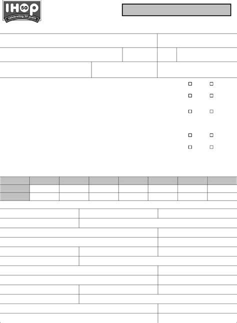 printable job application for ihop download ihop application for employment for free tidyform