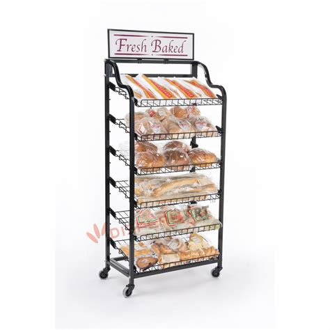 Bakery Display Rack bread display rack for retail store and bakery view bread