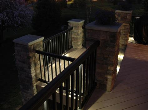 Recessed Patio Lights Fabulous Recessed Deck Lighting Ideas Doherty House