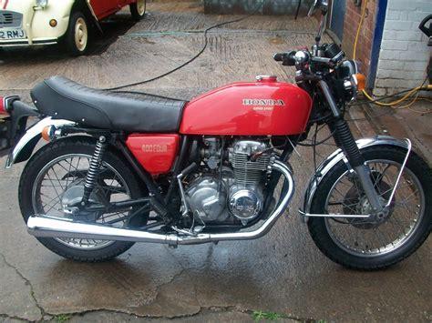 Honda Motorrad Rot by Honda Motorcycle 400 Sport Reg Mpb 708p 1976