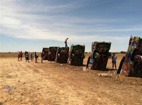 cadillac ranch mx foto de cadillac ranch amarillo even the waffles are