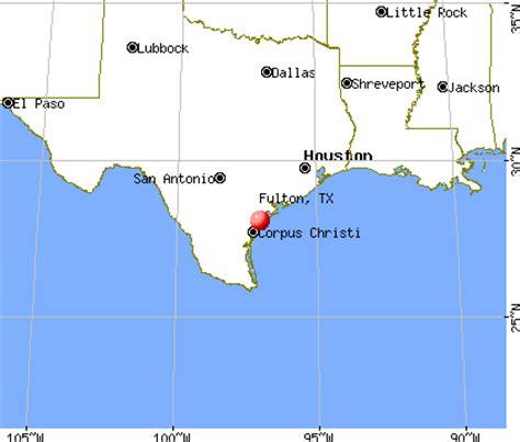 Futon Tx by Fulton Tx 78358 78382 Profile Population Maps