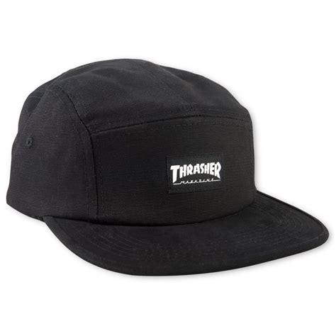 Topi 5 Panel Thrasher Maroon thrasher magazine shop thrasher 5 panel hat black