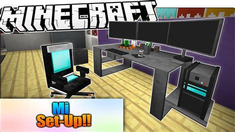 decoracion habitacion gamer minecraft cuarto gamer y cuarto decorado l set up en