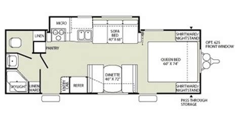 Fleetwood Travel Trailers Floor Plans by 2009 Mallard By Fleetwood M 24fqgs Specs And Standard