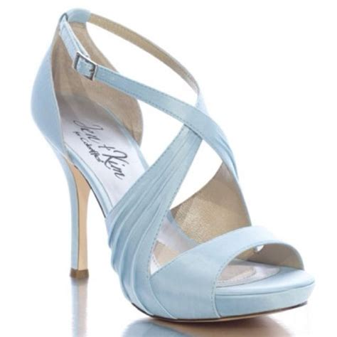 Blue Wedding Heels by These For The Blue Wedding