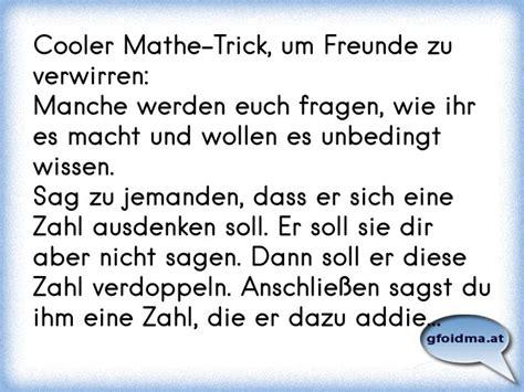 cooler mathe trick um freunde zu verwirren manche werden