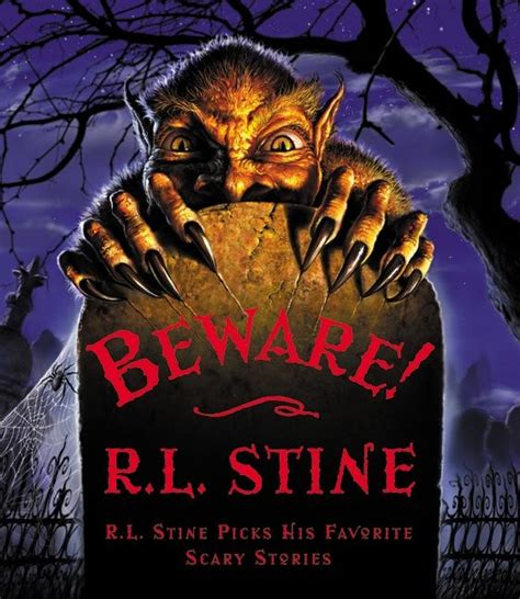 the book splash horror story books beware r l stine hardcover
