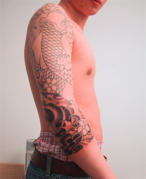 full sleeve tattoos designs japanese sleeve designs ideas