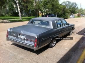 1987 Cadillac Fleetwood D Elegance 1987 Cadillac Brougham D Elegance