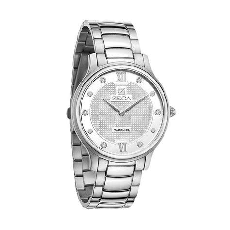Jam Tangan Pria Elegan Zeca jual zeca 550037 analog jam tangan pria silver