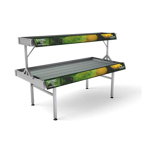 ebb and flow system benches and display products for