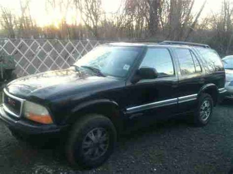 sell used 2001 gmc jimmy mechanic special project needs work but runs good in south plainfield