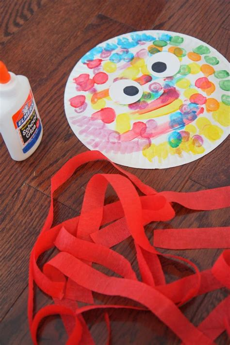 Octopus Paper Plate Craft - paper plate octopus craft crafts