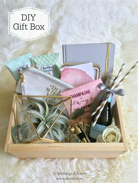 diy wedding gift ideas diy gift box js weddings and events