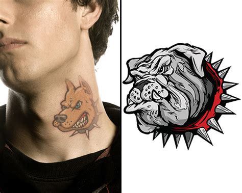 pit bull tattoo design ideas and their meanings