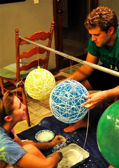 String Balls for Decorations Hanging from trees or from