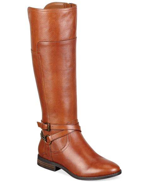 marc fisher boots marc fisher boots in brown lyst