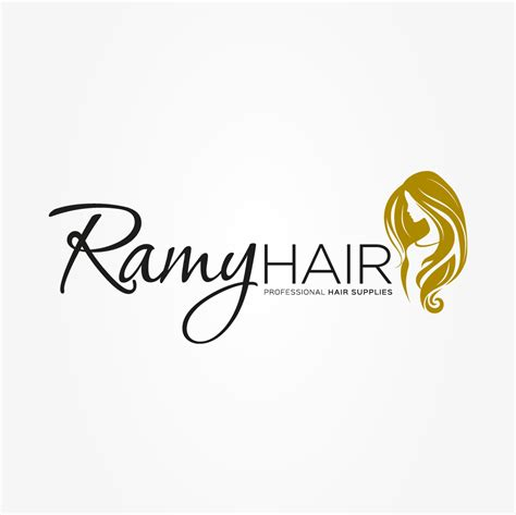 design logo hair salon ramy hair supplied logo designed by outspoken by design