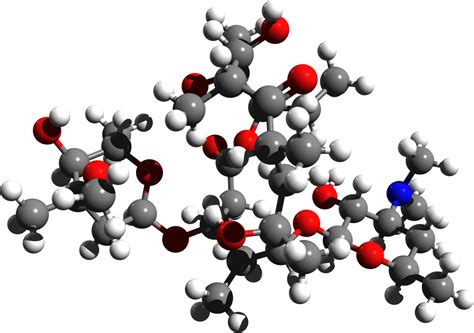 3d chemicals file erythromycin 3d structure png wikimedia commons