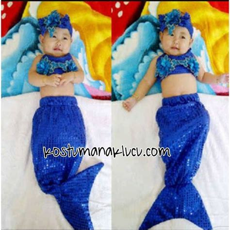Baju Rajut Bayi Putri Duyung kostum baju bayi bentuk putri duyung kostum anak lucu