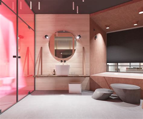 unique bathroom decor a sleek apartment interior design with modern and unique