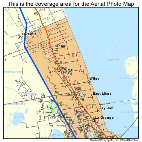 where is mims florida on map aerial photography map of mims fl florida