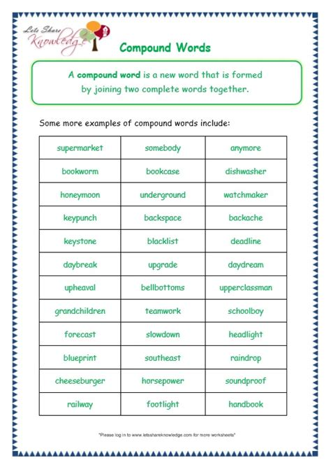 compound words worksheets 1st grade all worksheets 187 grade compound words worksheets