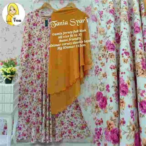 Baju Muslim Gamis Syari Murah Fauzia Set Ungu gamis syar i cantik b048 tania baju musim murah terbaru