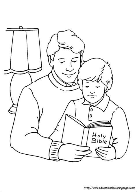 Happy Father's Day – Dibujos para imprimir y pintar