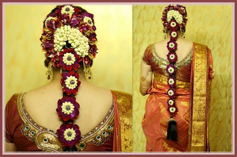 South Indian Wedding Hairstyles For Hair by Most Beautiful South Indian Wedding Hairstyles For