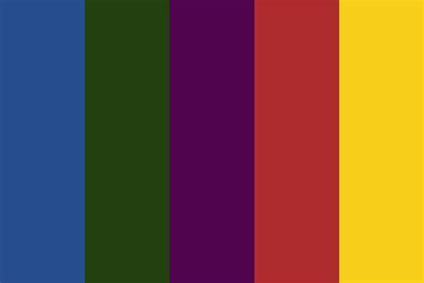 american colors american color palette